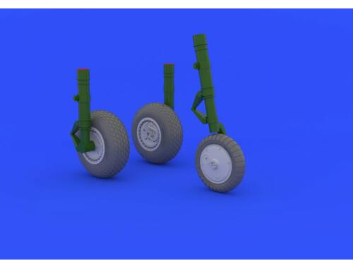 Eduard Me 262 wheels for TRUMPETER 1:32 (632031)