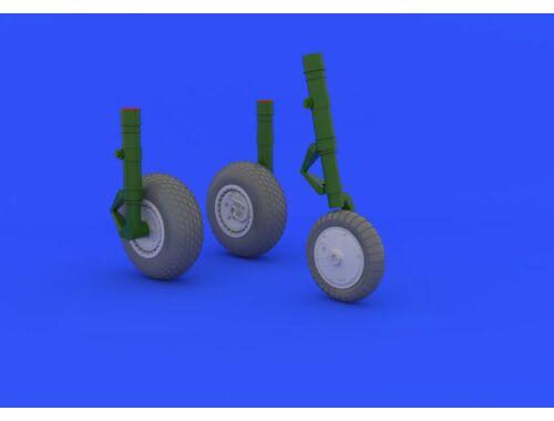 Eduard Me 262 wheels for TRUMPETER 1:32 (632031)