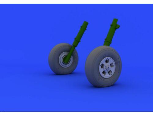 Eduard Spitfire Mk.I/II wheels for REVELL 1:32 (632038)