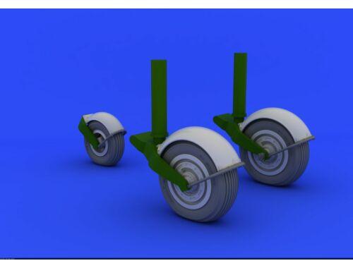 Eduard Meteor F.4 wheels for HKM 1:32 (632041)
