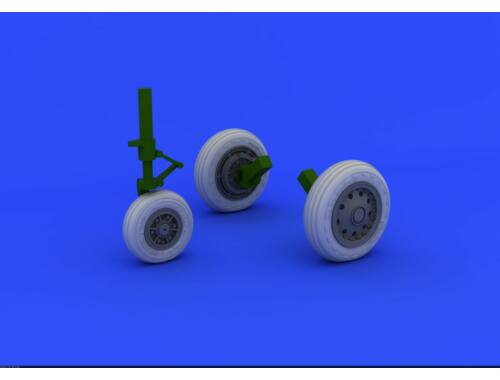 Eduard F-104 undercarriage wheels early for ITALERI 1:32 (632045)