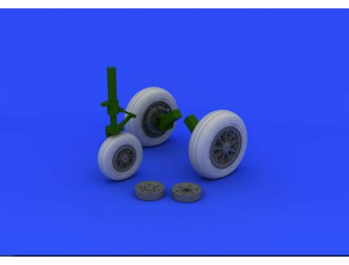 Eduard F-104 undercarriage wheels late for ITALERI 1:32 (632046)