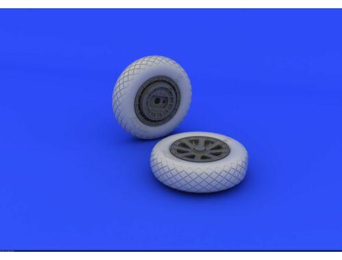 Eduard F4U-1 wheels diamond pattern for TAMIYA 1:32 (632052)