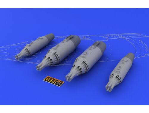 Eduard Rocket launcher UB-16 and UB-32 1:48 (648025)