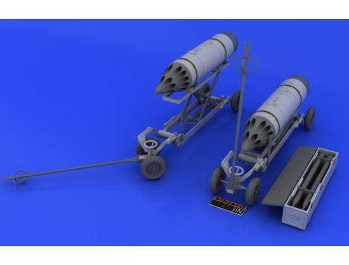 Eduard Rocket launcher B-8M1 and loading cart 1:48 (648046)