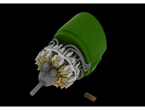 Eduard R-2800-10 engine for EDUARD 1:48 (648056)