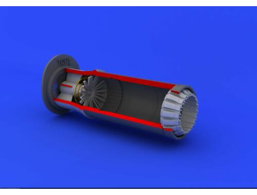 Eduard MiG-21PF/PFM exhaust nozzle for EDUARD 1:48 (648117)