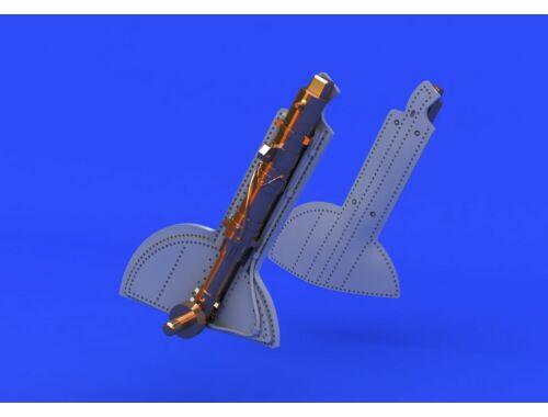 Eduard Spitfire undercarriage legs BRONZE for EDUARD 1:48 (648124)