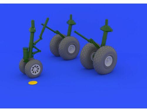Eduard B-29 wheels for REVELL 1:48 (648132)