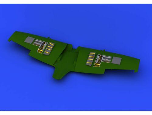 Eduard Spitfire Mk.VIII gun bays for EDUARD 1:48 (648201)