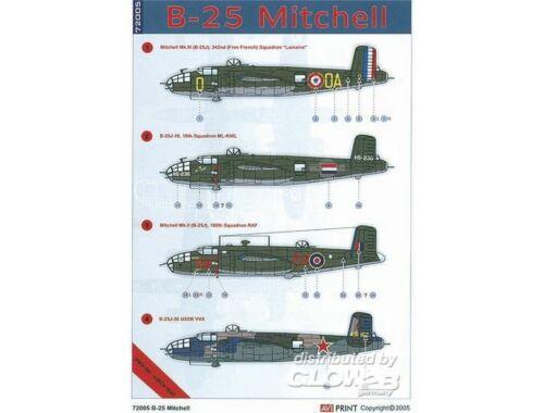 Eduard B-25 1:72 (AV72005)