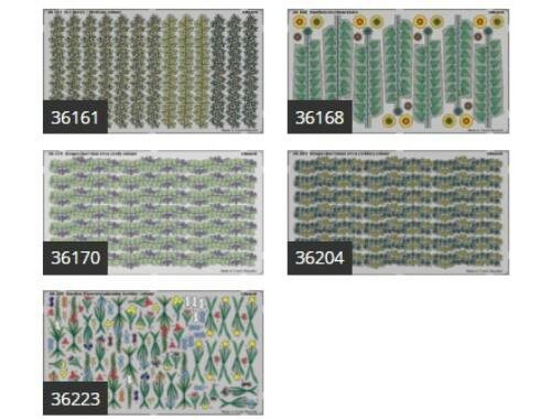 Eduard PLANTS I. Temperate zone / garden 1:35 (BIG3576)