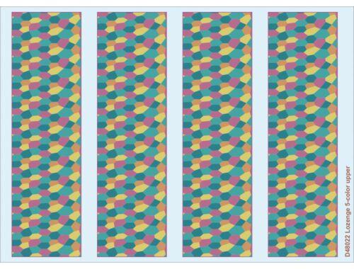 Eduard Lozenge 5-color upper 1:48 (D48022)