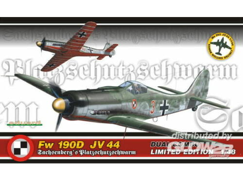 Eduard Fw 190D JV 44 Dual Combo Limited 1:48 (D1154)