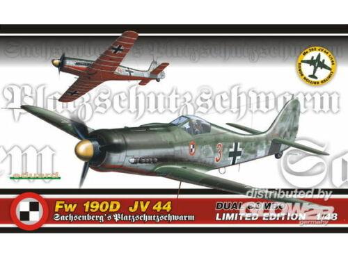 Eduard Fw 190D JV 44 Dual Combo Limited 1:48 (1154)