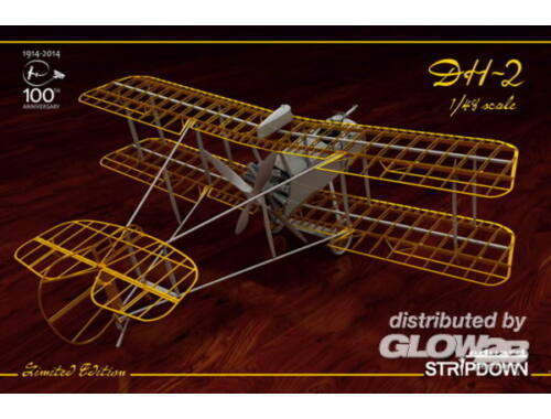 Eduard DH-2 STRIPDOWN LIMITED EDITION 1:48 (1185)