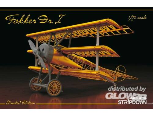 Eduard Fokker Dr.I STRIPDOWN LIMITED EDITION 1:72 (2114)