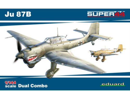 Eduard Ju 87B DUAL COMBO SUPER44 1:144 (4431)