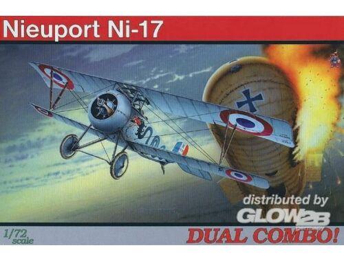 Eduard Nieuport Ni-17 DUAL COMBO ProfiPACK 1:72 (7071)