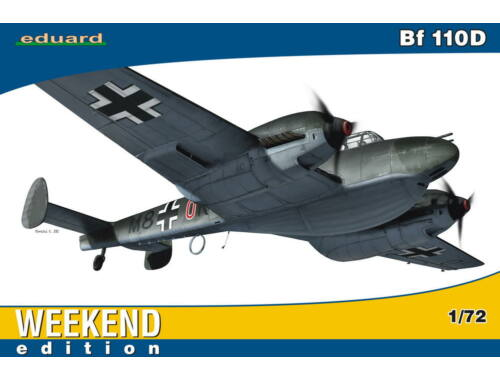 Eduard Bf 110D WEEKEND edition 1:72 (7420)