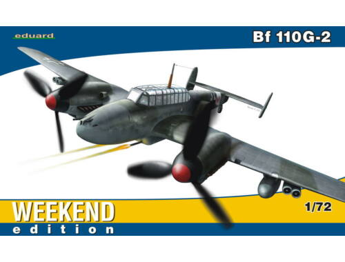 Eduard Bf 110G-2 WEEKEND edition 1:72 (7421)