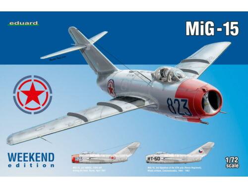 Eduard MiG-15 WEEKEND edition 1:72 (7423)