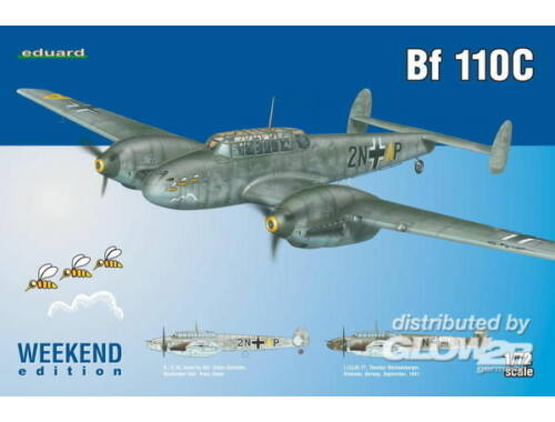Eduard Bf 110C WEEKEND edition 1:72 (7426)