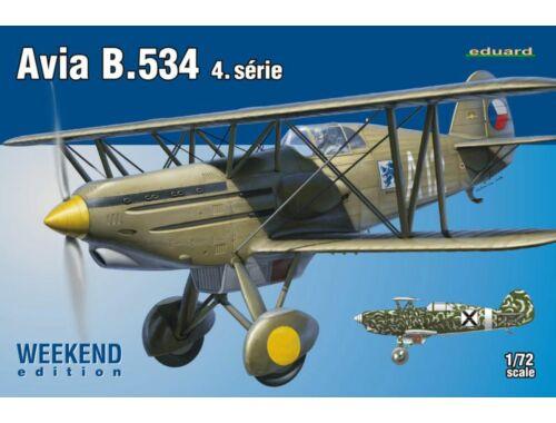 Eduard Avia B.534 IV. série WEEKEND edition 1:72 (7428)