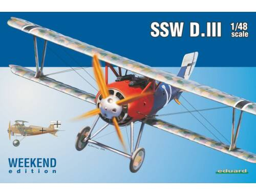 Eduard SSW D.III WEEKEND edition 1:48 (8484)