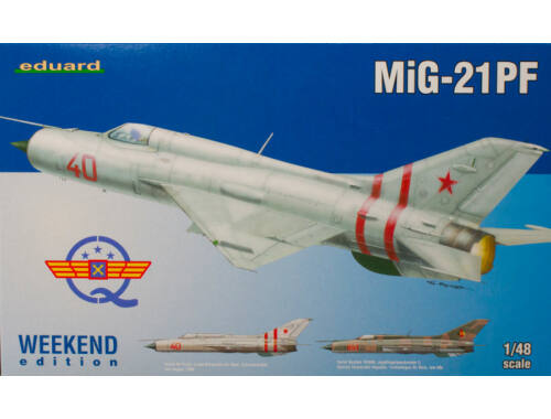 Eduard MiG-21PF WEEKEND edition 1:48 (84127)