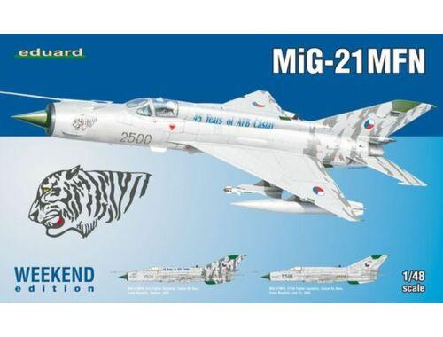 Eduard MiG-21MFN WEEKEND edition 1:48 (84128)