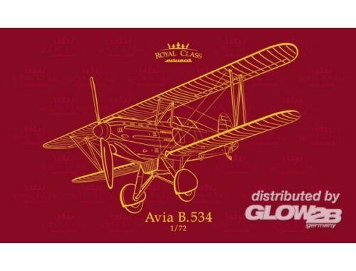 Eduard Avia B.534 Quattro Combo ROYAL Class 1:72 (R0010)