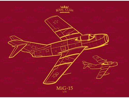 Eduard MiG-15 QUATTRO COMBO ROYAL Class 1:72 (R0011)