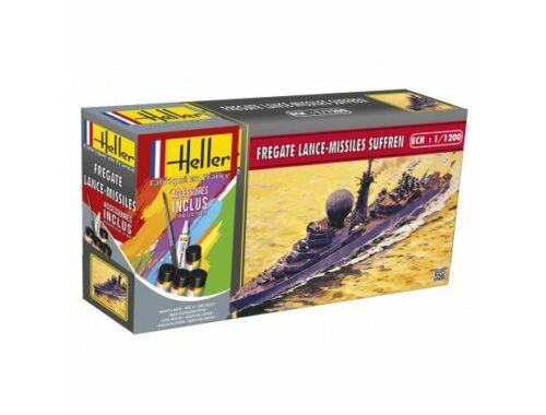 Heller Starter Set Fregate Lance-Missiles Suffren 1:1200 (49033)