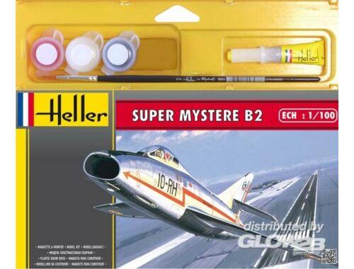 Heller Starter Set Super Mystere B2 1:100 (49040)