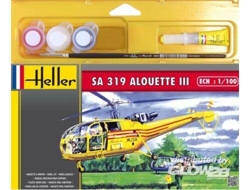 Heller Starter Set SA 319 Alouette III 1:100 (49045)