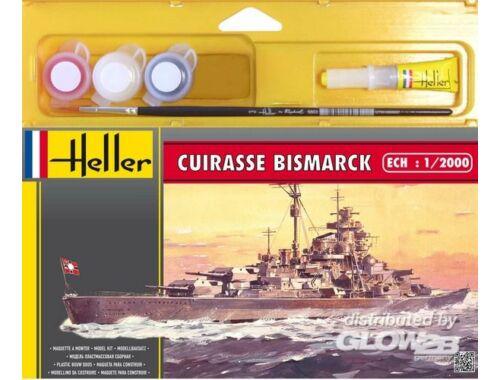 Heller Starter Set Cuirasse Bismarck 1:2000 (49051)