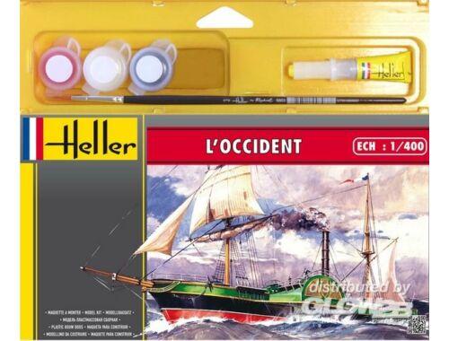 Heller Starter Set L'Occident 1:400 (49062)