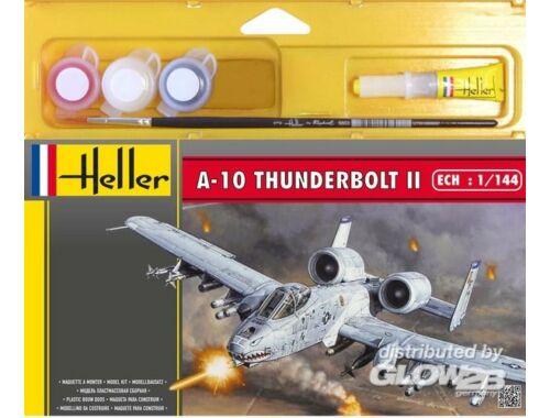 Heller Starter Set A-10 Thunderbolt II 1:144 (49073)