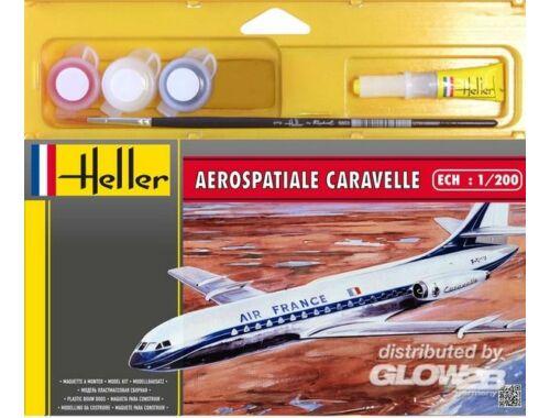 Heller Starter Set Aerospatiale Caravelle 1:200 (49074)