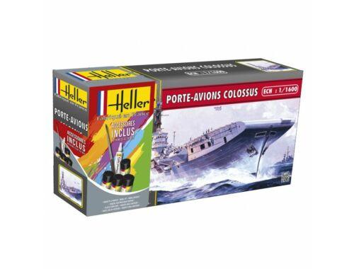 Heller Starter Set Porte-Avions Colossus 1:1600 (49076)