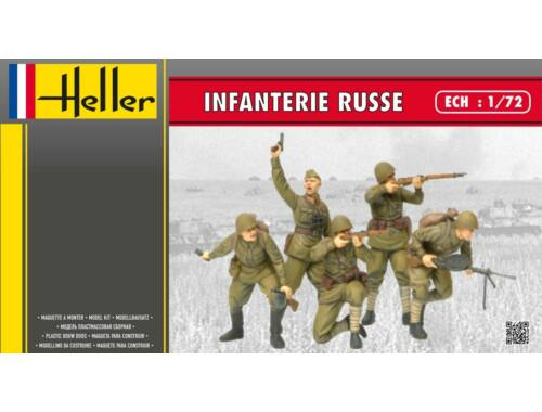 Heller Infanterie Russe 1:72 (49603)