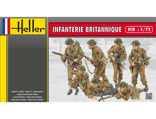 Heller Infanterie Britannique 1:72 (49604)