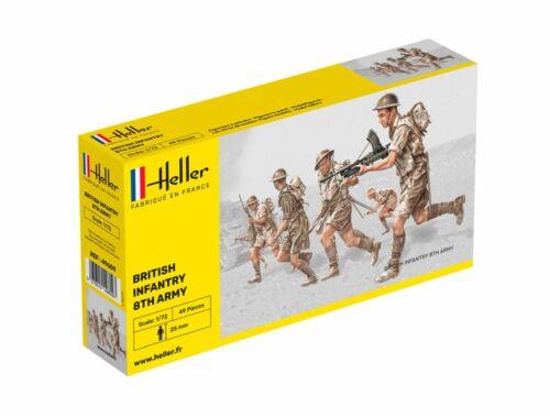 Heller Britisch Infantry 8. Army 1:72 (49609)