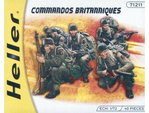 Heller Starter Set Britische Kommandotruppen 1:72 (49632)