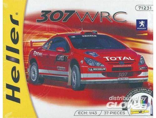 Heller Starter Set Peugeot 307 WRC '04 1:43 (50115)