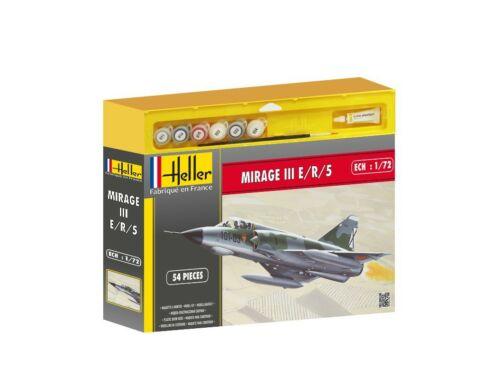Heller Starter Set Dassault Mirage III E/R/5 1:72 (50323)