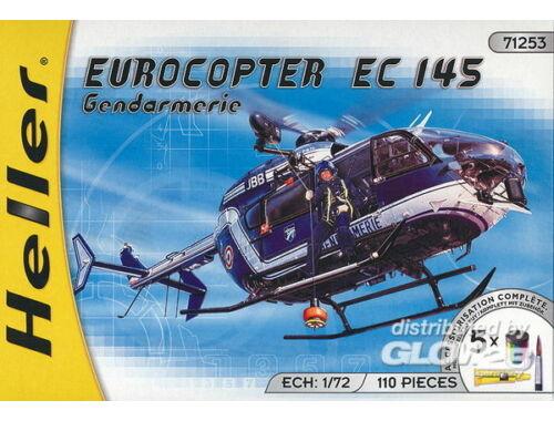 Heller Starter Set Eurocopter EC 145 ''Gendarmerie'' 1:72 (50378)