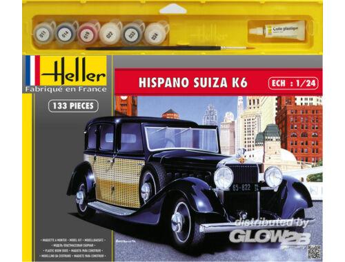 Heller Starter Set Hispano Suiza K6 1:24 (50704)