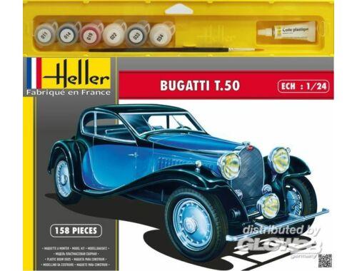 Heller Starter Set Bugatti T.50 1:24 (50706)